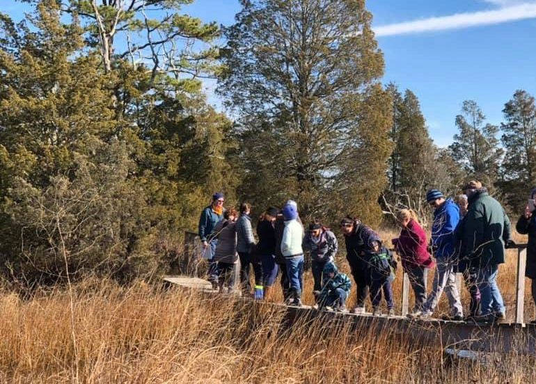 Walkers from the BLCT 2019 Johannis Thanksgiving walk
